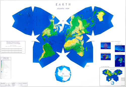 The Waterman projection of the world