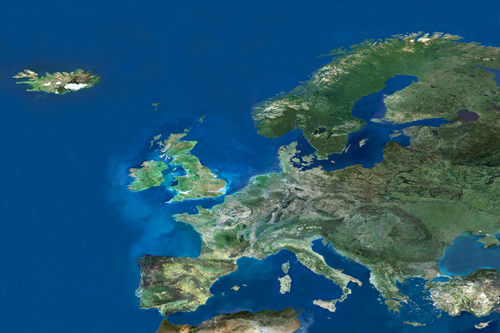 Europe from Space 2