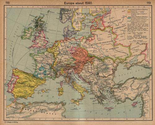 Europe 1560