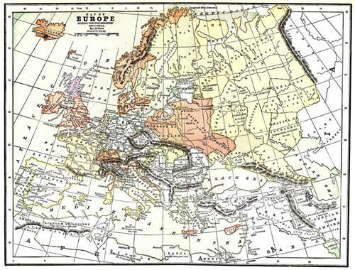 Europe 1550