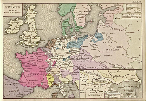 Europe 1648