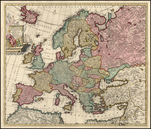 Europe 1695