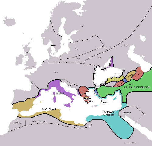 Europe 220 BC