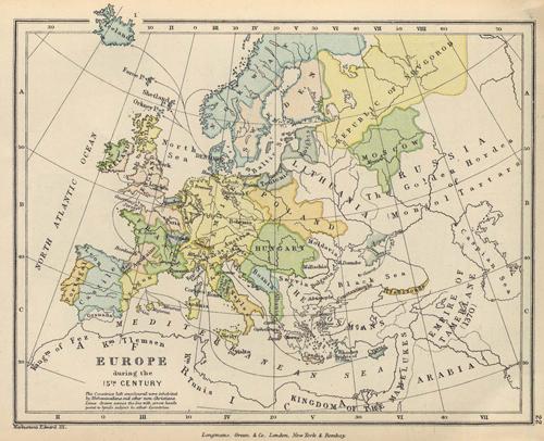 Europe 1400s