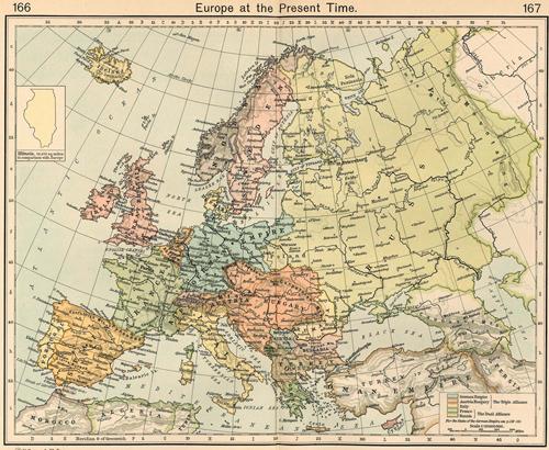 Europe 1911