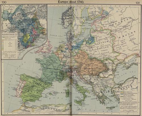 Europe 1740