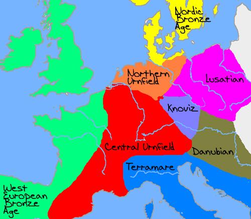 Cultures 1200 BC