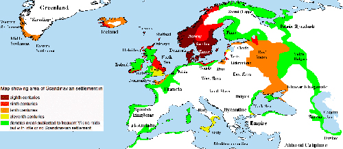 Expansion of the Vikings