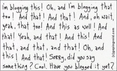 Blogging Blogging