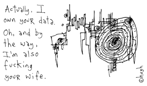 Fuck my data