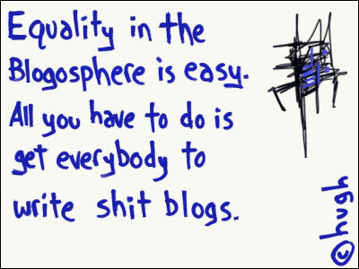 Equality in the Blogosphere