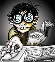 Geeky Cartoon