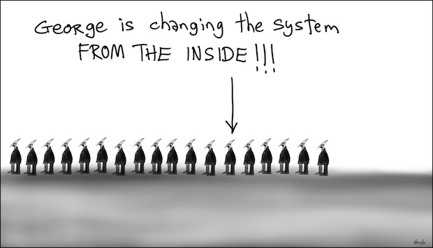Changing the system