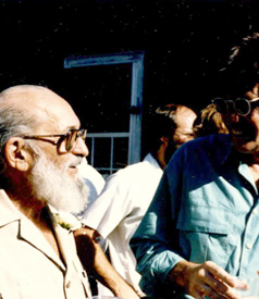 Paulo Freire and Henry A. Giroux  | Photo © Henry A. Giroux